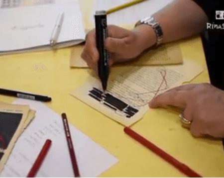 Laboratorio sul Caviardage®  – Maddalena Grieco