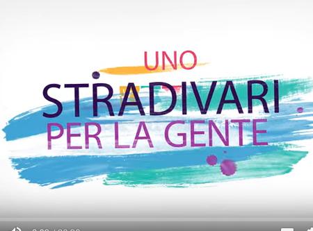 Uno Stradivari per la gente – Estratto Evento Rinascimente 21.03.15