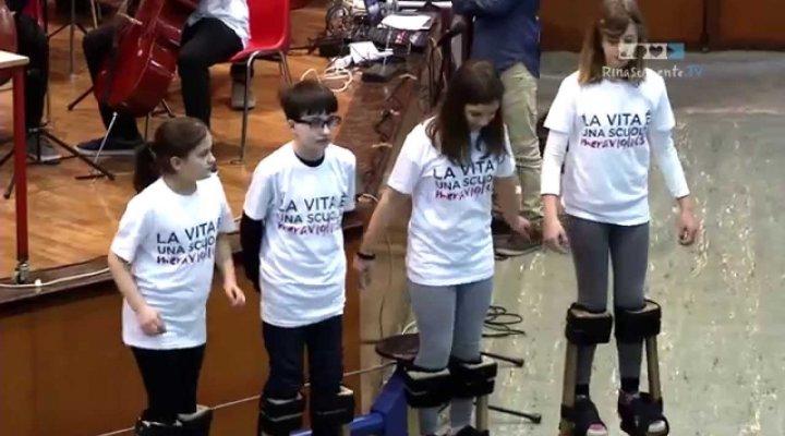 Orchestra giovanile Mousiké e Circo – Estratto Evento Rinascimente 21.03.15